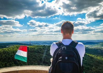 Hike Budapest Elizabeth Lookout