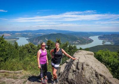 Running in the Danube bend