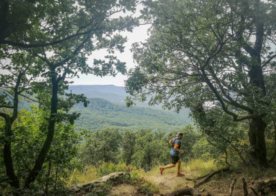 Trail running tour in Hungary