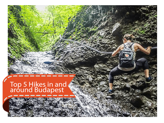 Best 5 Hikes in and around Budapest