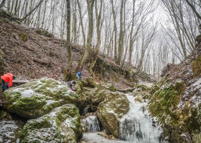 Dera canyon hike Hungary