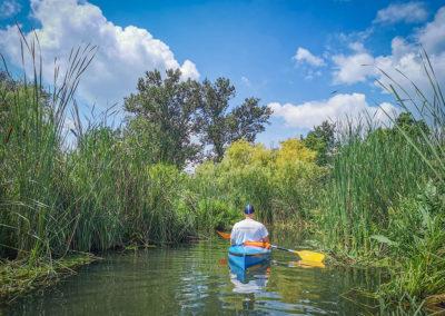 Kayaking in Budapest